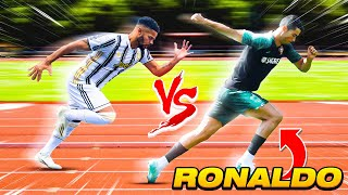 INTENSE SPEED RACE VS CRISTIANO RONALDO 🏃🏻💨 | Billy Wingrove & Jeremy Lynch