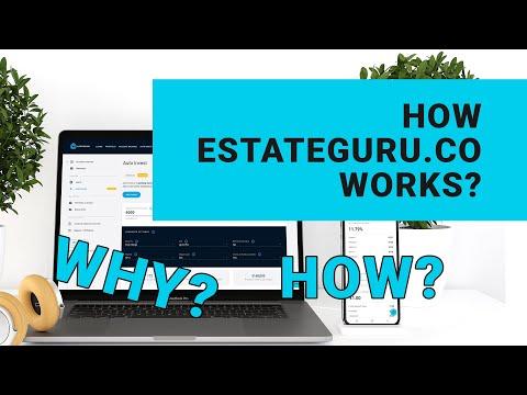 How EstateGuru Works?