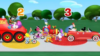 Mickey Mouse Clubhouse Road Rally Adventure - Playhouse Disney Clubhouse Rally Raceway Game