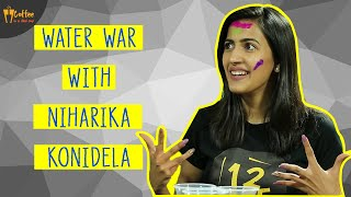 Water war with Niharika Konidela | About movie Suryakantham | Interview Part 2 | Vivek Reddy