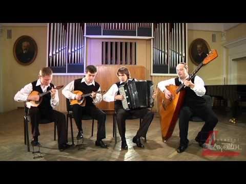 Квартет Лабиринт - Пьеса в стиле фламенко (Stile Flamenco)