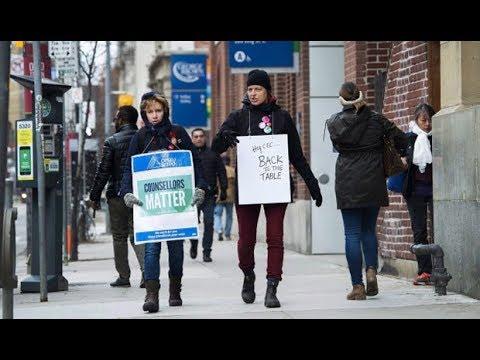 Ontario college strike debate