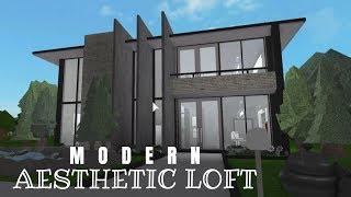 Roblox | Bloxburg | Modern Aesthetic Loft | 54K