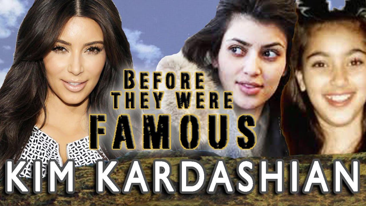 KIM KARDASHIAN - Before They Were Famous - BIOGRAPHY - YouTube