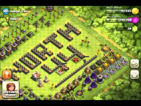 Clash Of Clans | Jorge Yao's Base Before Retiring |