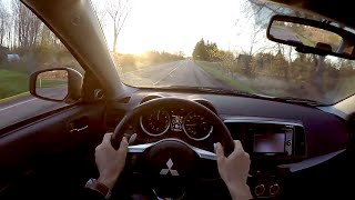 2015 Mitsubishi Lancer Evolution MR - WR TV POV Test Drive