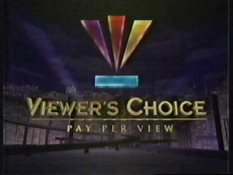 Viewer's Choice Pay Per View About to Begin