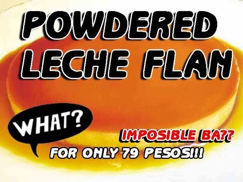 Powdered Leche Flan