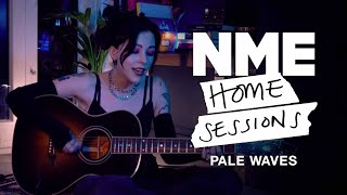 Pale Waves' Heather Baron-Gracie – 'Change' & 'Eighteen' | NME Home Sessions