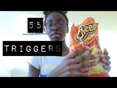ASMR~55 TRIGGERS IN 1 MINUTE