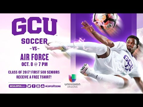 Men's Soccer vs Air Force Oct 8, 2016