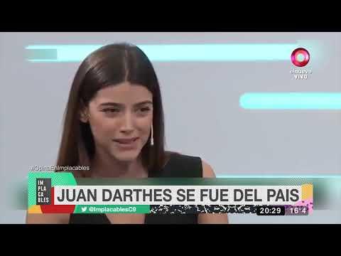 Darthés volvió a Brasil, después de pasar una semana en Funes