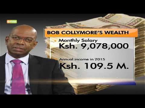 Bob Collymore declares wealth
