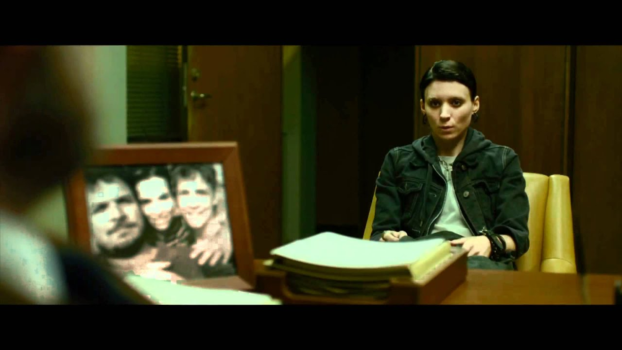 Download THE GIRL WITH THE DRAGON TATTOO - OFFICIAL 8 Minute Trailer .mp4