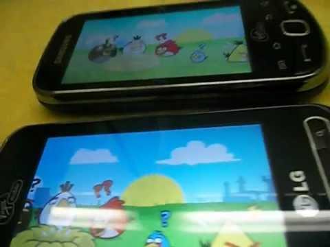 LG Optimus Slider VS Samsung Intercept (HD) Part 2