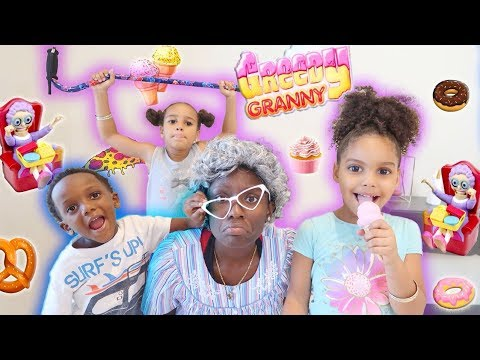 Super Siah & Friends Play Greedy Granny In Real Life