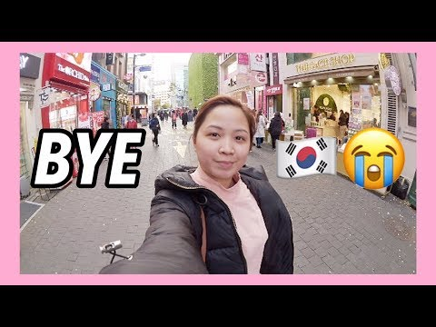 🇰🇷 VLOG S2 #6: Last Day in Seoul 😭 + Shopping in Myeongdong!💕 | Raych Ramos✨