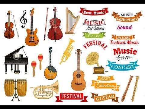 Sound Of Musical Instruments. Музыкальные инструменты и их звучание. Часть 4. Видео для детей.