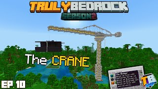 The Storage CRANE! | TrulyBedrock Season 2 [#10] | Minecraft Bedrock Edition SMP Server