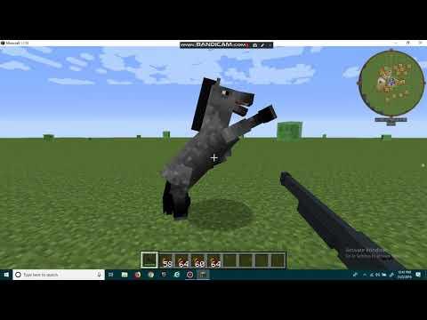 Minecraft:Mod Gun,morph,and Cars