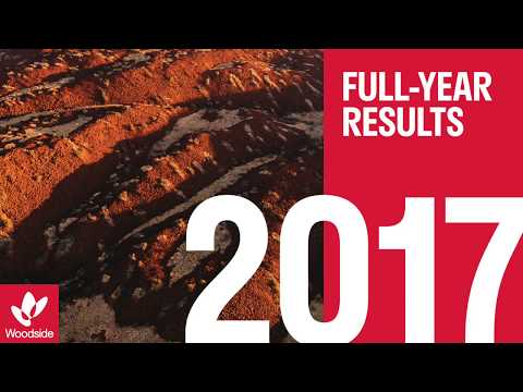 Woodside's 2017 full-year results