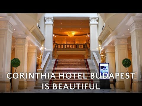 🇭🇺 Corinthia Hotel Budapest is beautiful! // Day 1 in Budapest, Hungary (4K)