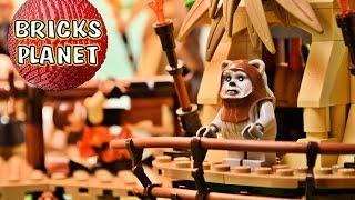 Ewok Village 10236 LEGO Star Wars - Review, Stop Motion, Time-Lapse Build