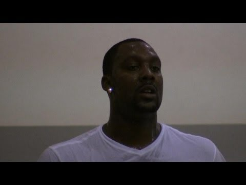 Andray Blatche PUTS IN WORK with John Lucas - Brooklyn Nets, Miami Heat
