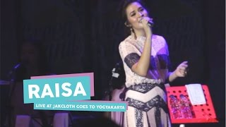 hd raisa jatuh hati live at jakcloth goes to yogyakarta mei 2017