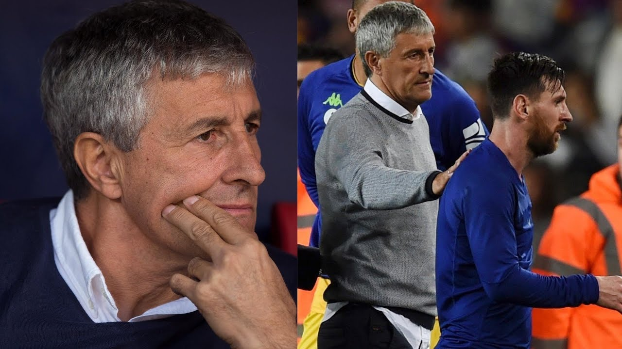What Quique Setien Will Bring To Fc Barcelona As Their New Coach Youtube