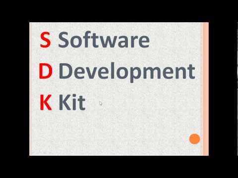 What is an SDK? (Software Development Kit)