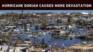 Hurricane Dorian has left devastation across the Bahamas islands, the US east coast and now Canada's Atlantic Coast as a downgraded post-tropical cyclone.