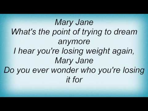 Alanis Morissette - Mary Jane Lyrics