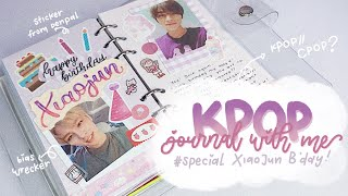 •. Kpop/Cpop Journal with Me #10 Special Xiao Jun WayV birthday .• || Indonesia