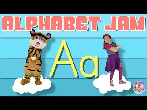 Learn The Letter A | Alphabet Jam | Literacy Song | Pevan And Sarah