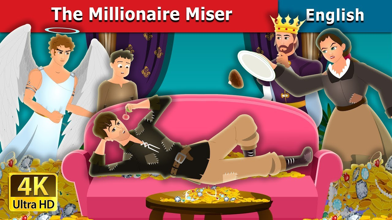 Download The Millionaire Miser Story | Stories for Teenagers | English Fairy Tales