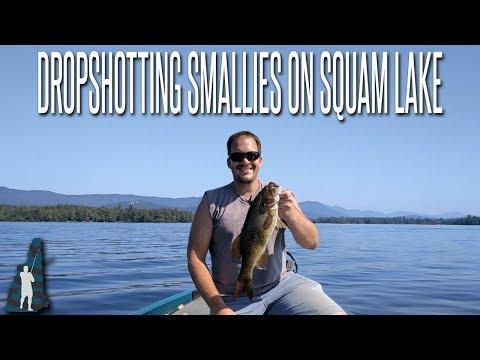 Dropshotting Late Summer Smallmouth // Squam Lake, NH