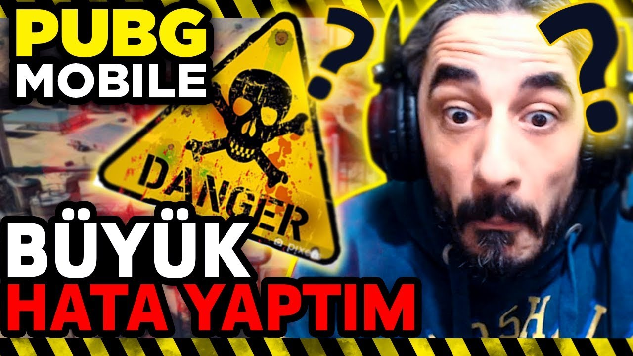 BÜYÜK HATA !! - PUBG Mobile (One Man Squad)