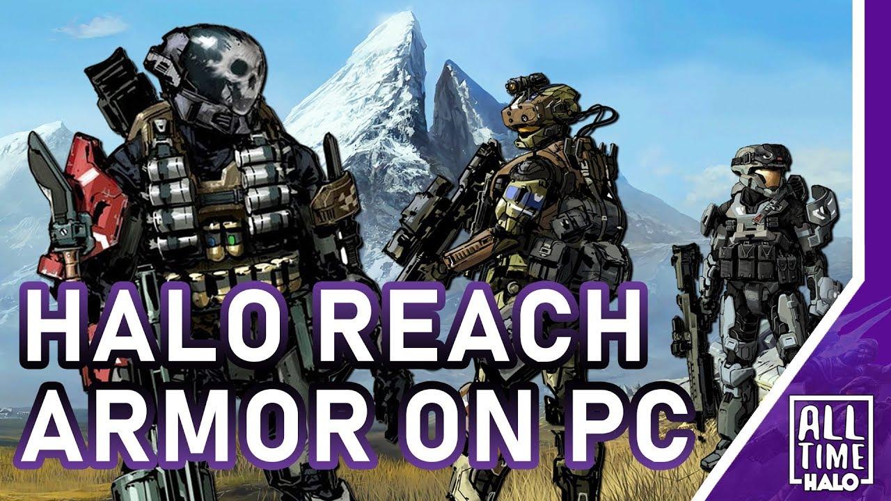Halo Reach Armor Customization Coming To Mcc