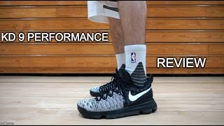Nike KD 9 Performance Review Test and On Feet