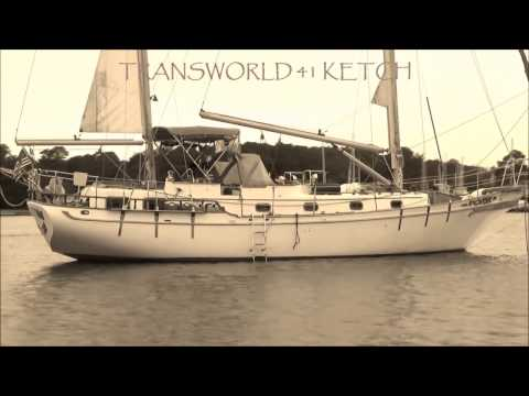 TRANSWORLD 41 KETCH Designed by WILLIAM GARDEN