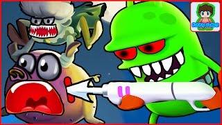zombie catchers Ловцы зомби игра как мультик для детей от фаника