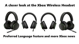 738: Xbox Wireless Headset and Preferred Language