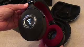 Focal Clear Pro headphones unboxing