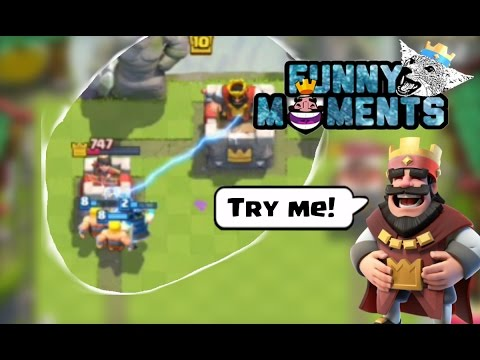 Funny Moments, Glitches, Fails & Wins Compilation | Clash Royale Montage #11