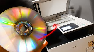 What happens if you photocopy a CD
