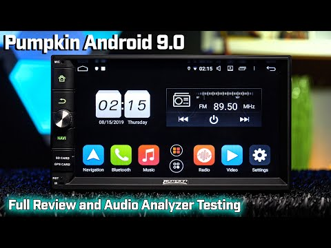 """Pumpkin 7"""" Android 9.0 - Audio Analyzer Testing and Review - How Does it Sound???"""
