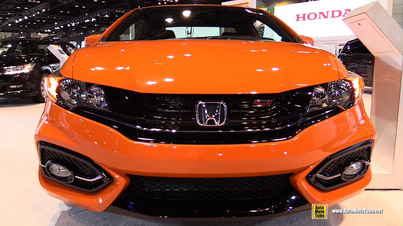 2015 Honda Civic Si   Exterior And Interior Walkaround   2015 Chicago Auto  Show   YouTube