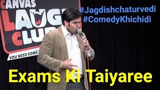 Exams ki taiyaree - Latest Hindi comedy Video by Dr. Jagdish Chaturvedi