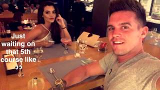 Gaz Beadle and Emma McVey romantic holiday in Portugal  | Snapchat | September 15 2016